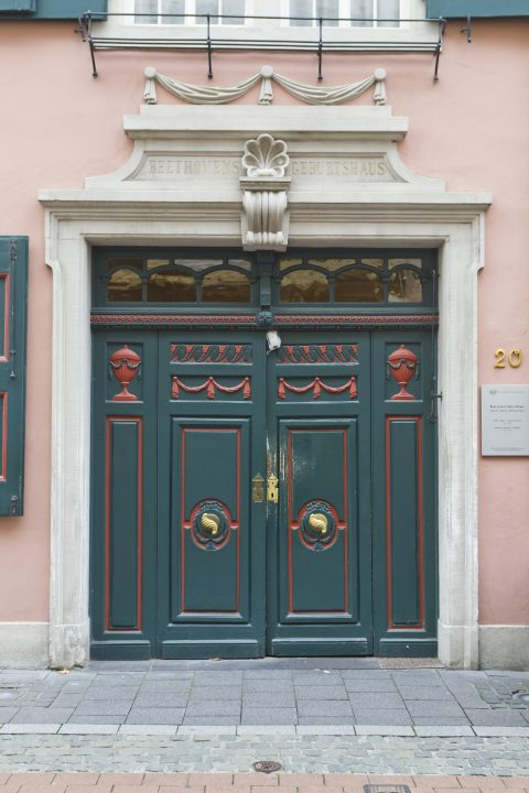 The Beethoven-Haus is one of the world's most visited music museums. Photo: Michael Sondermann