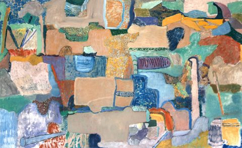 Danny Leyland - Debris Dance, oil on canvas