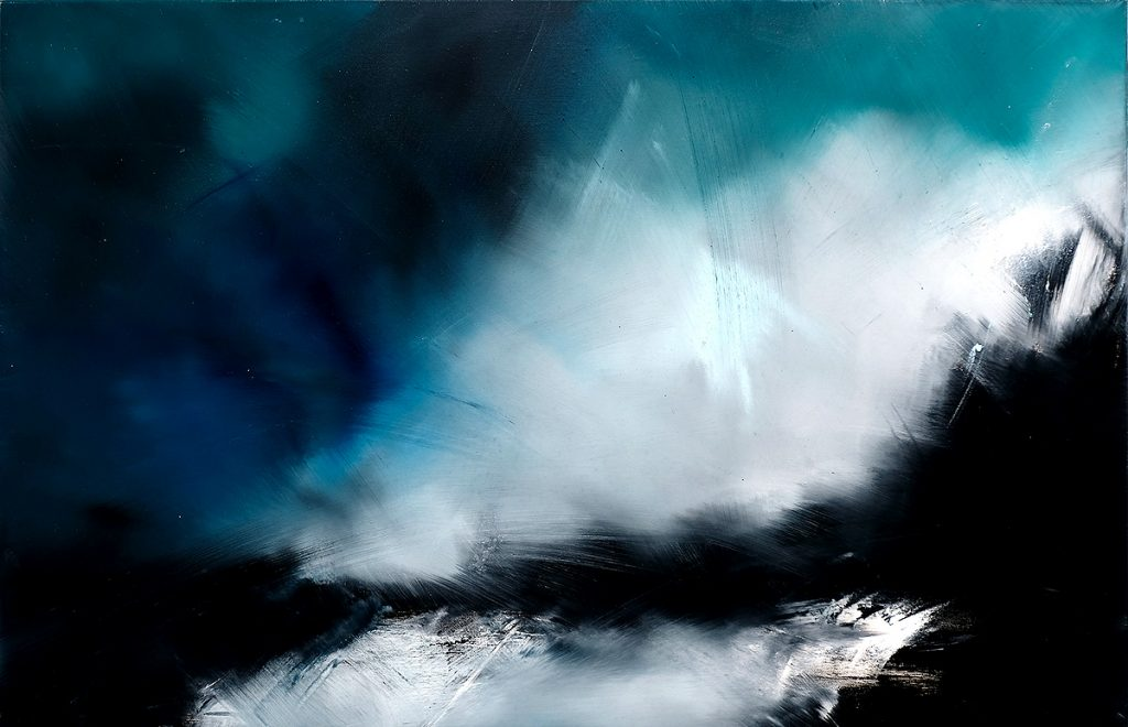 Ellis O'Connor - Rough Crossing, oil on canvas