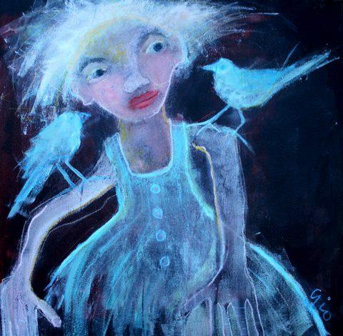 Gio Martin - We Need You, acrylic on canvas