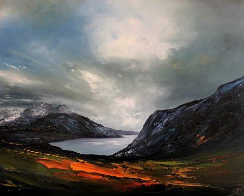 Linda Park - Looking Down Loch Ewe Wester Ross