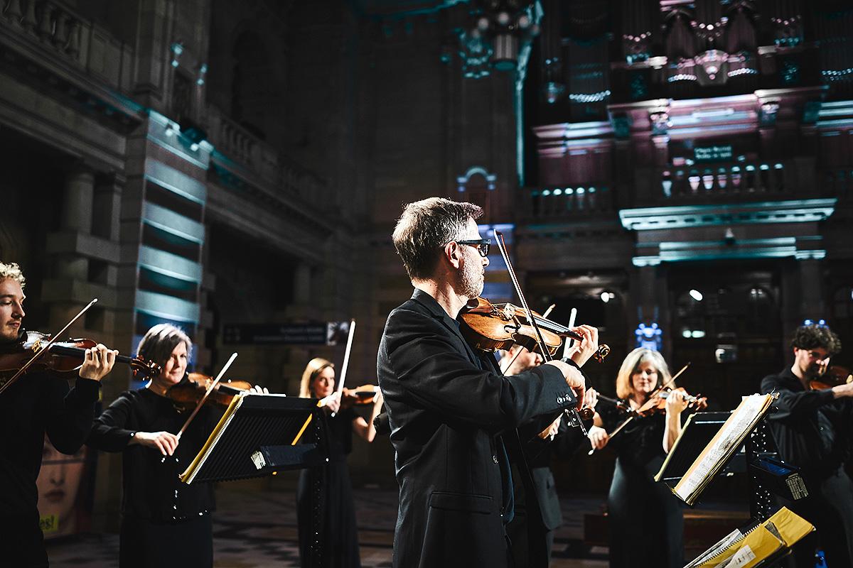 Scottish Ensemble, Kelvingrove 2017, Hugh Carswell