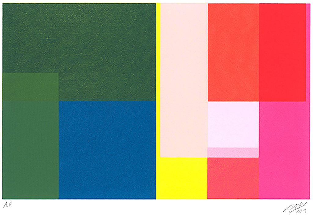 Richard Marsden - Overlap, Screenprint
