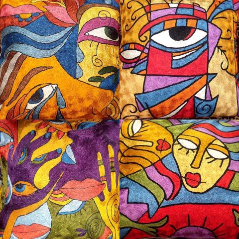 Kashmiri Cushions