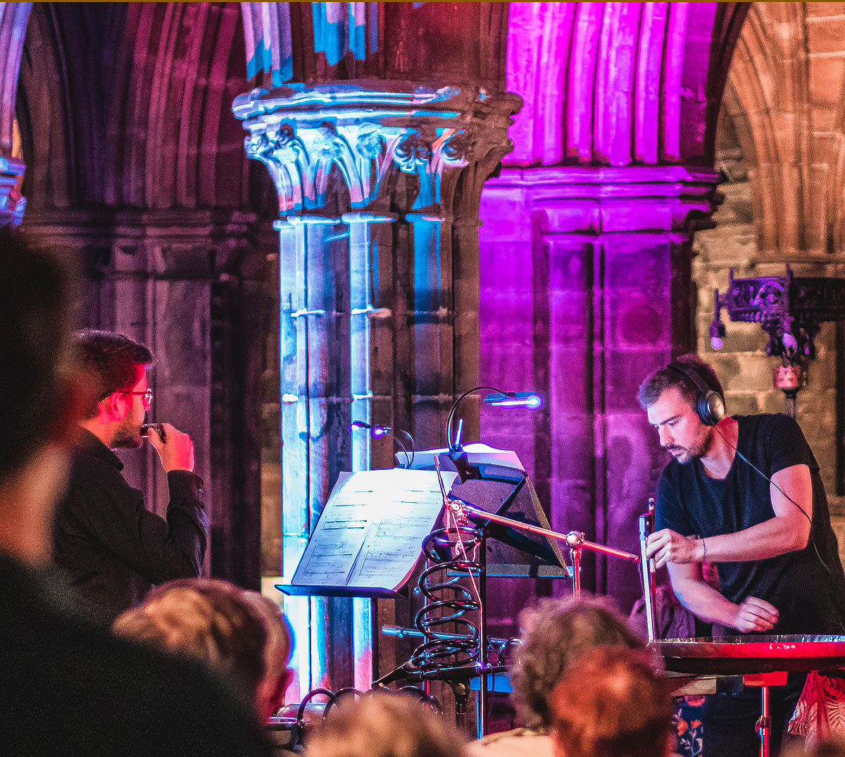 Dhatu by Edwin Hillier Performed at Glasgow Cathedral Festival 2019. Image credit David Lee / GCF