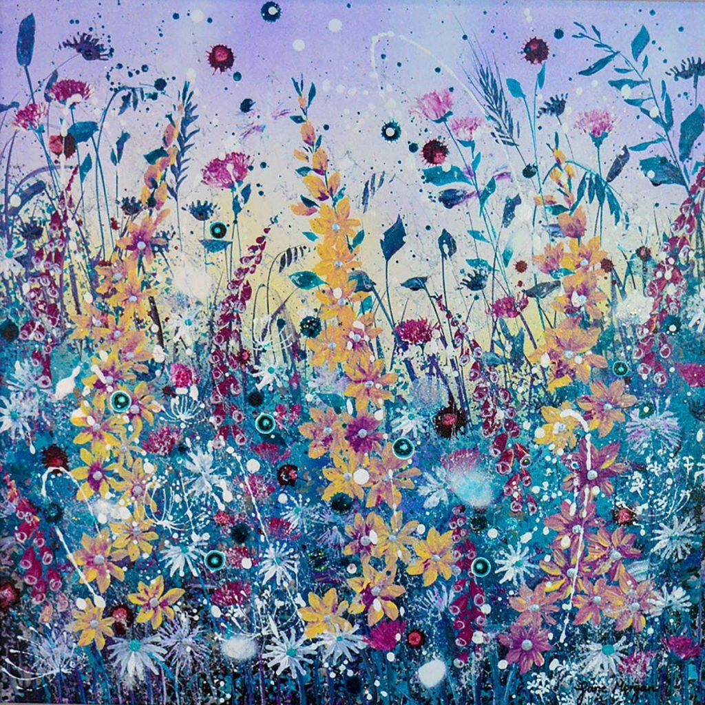 Jane Morgan - Gone Wild, acrylic on canvas