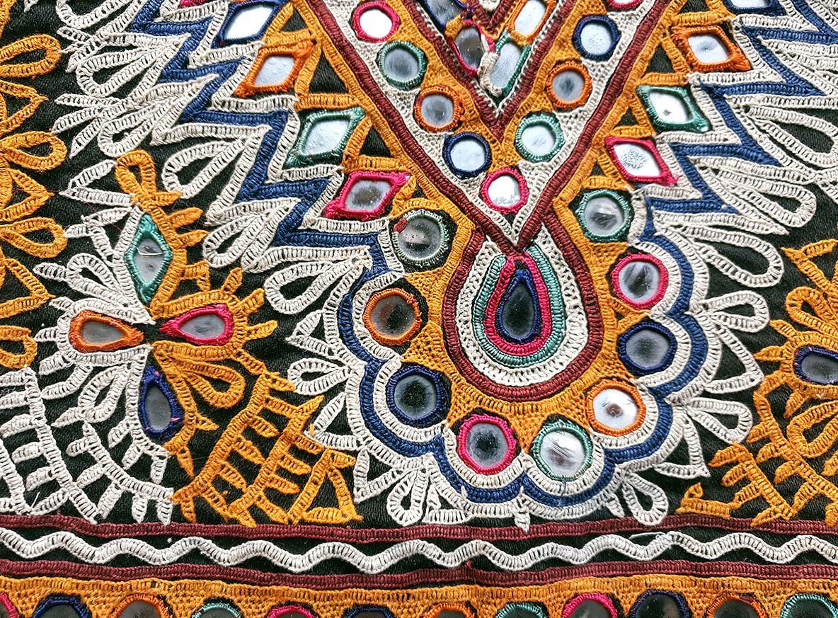 Rabari embroidered panel, Gujarat