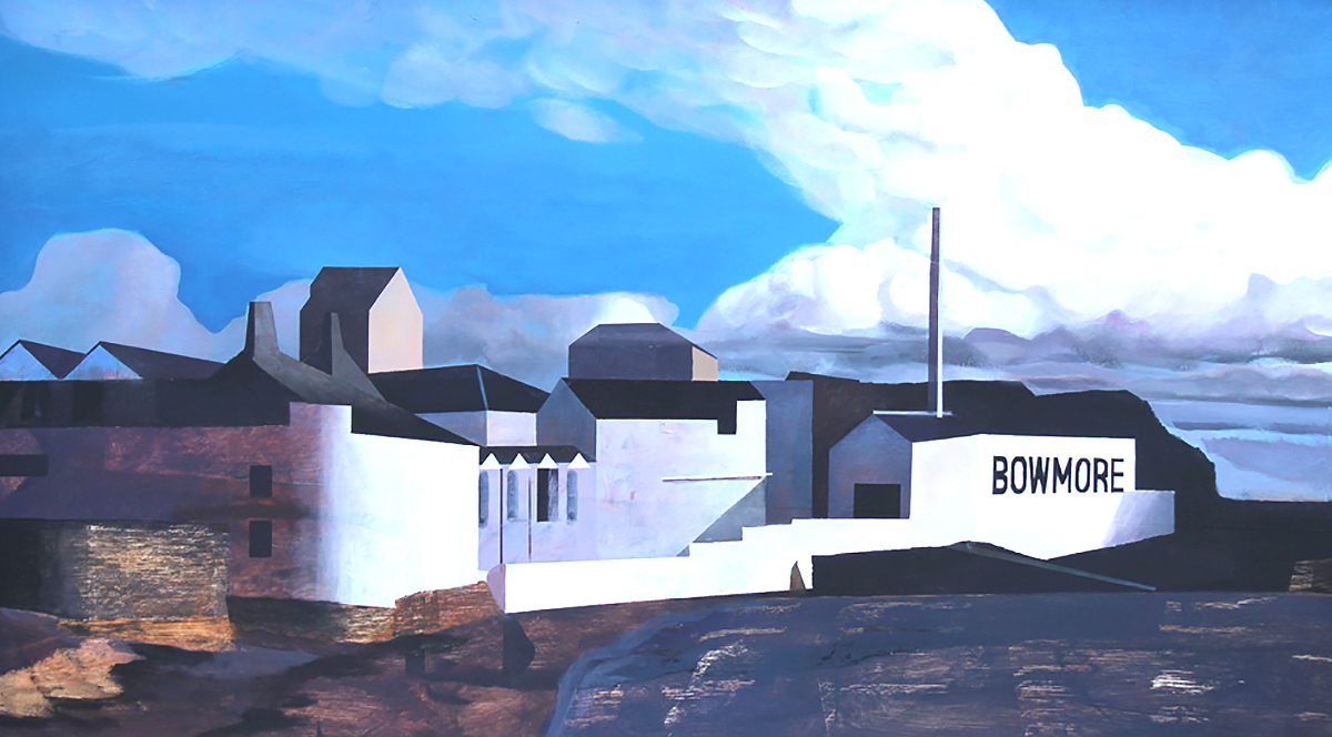 Euan McGregor - Bowmore Day, acrylic on board