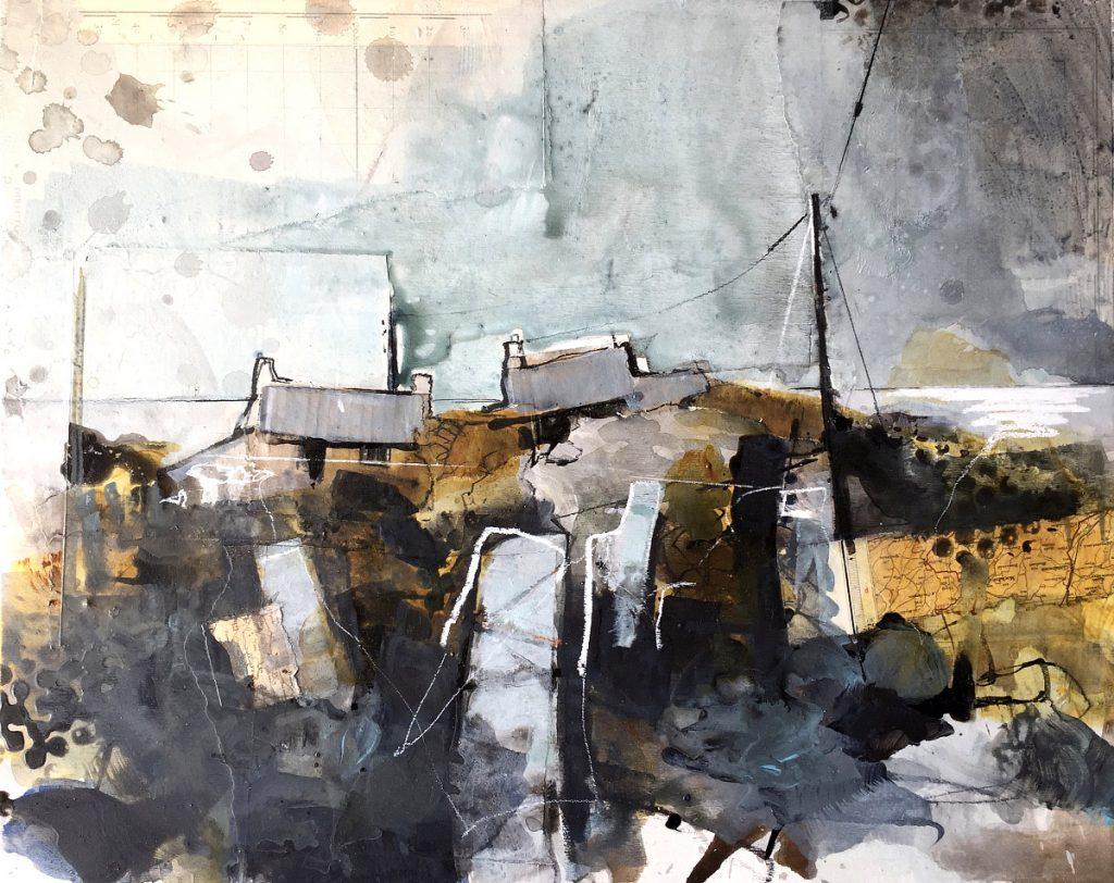 Pete Monaghan - Ensemble, mixed media
