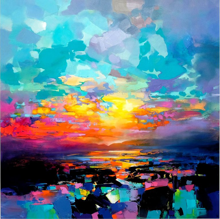 Scott Naismith - Beyond the Chaos, oil and acrylic on linen