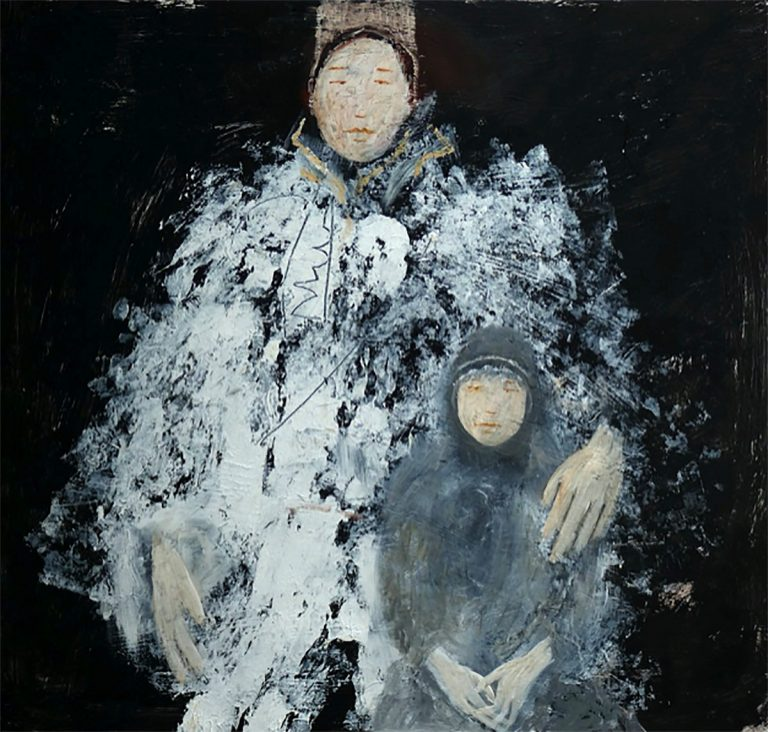 Helen Tabor - The Snow Queen, oil on board