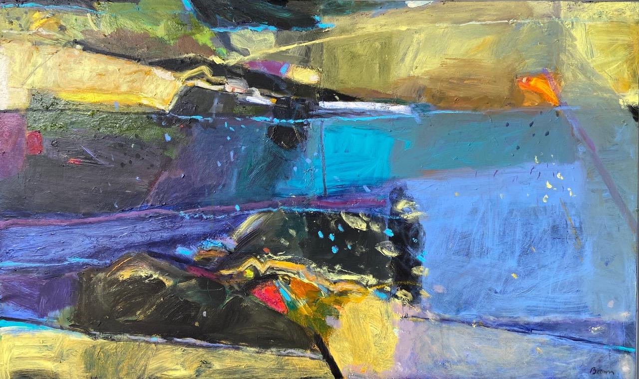 John Brown - Lily Pond, acrylic