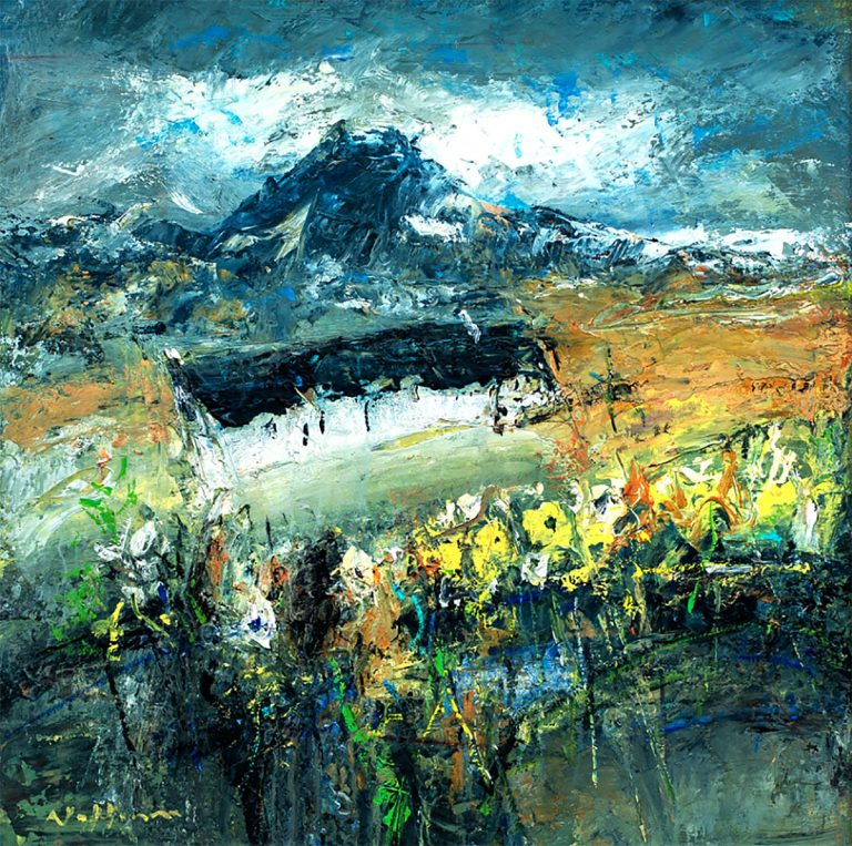 Nael Hanna - The Croft Garden, Glencoe