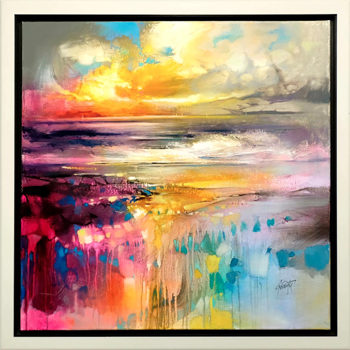 Scott Naismith - Liquid Reflections, oil and acrylic on linen