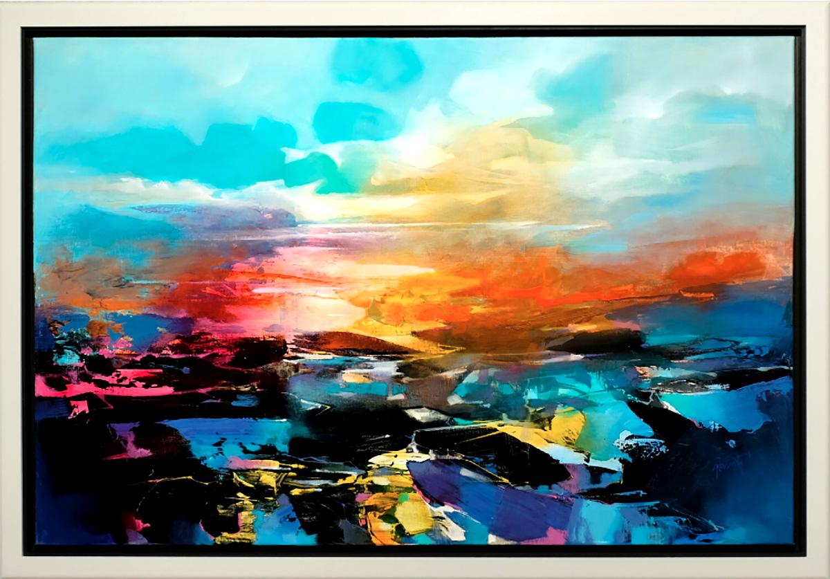 Scott Naismith - Evaporation, oil and acrylic on linen