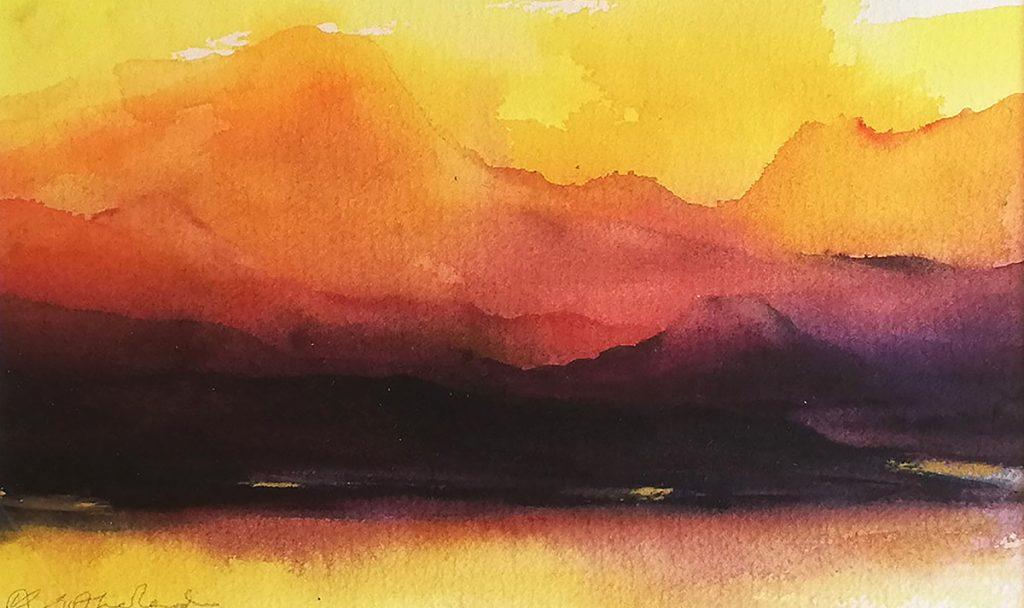 Katherine Sutherland - Summer Sunset