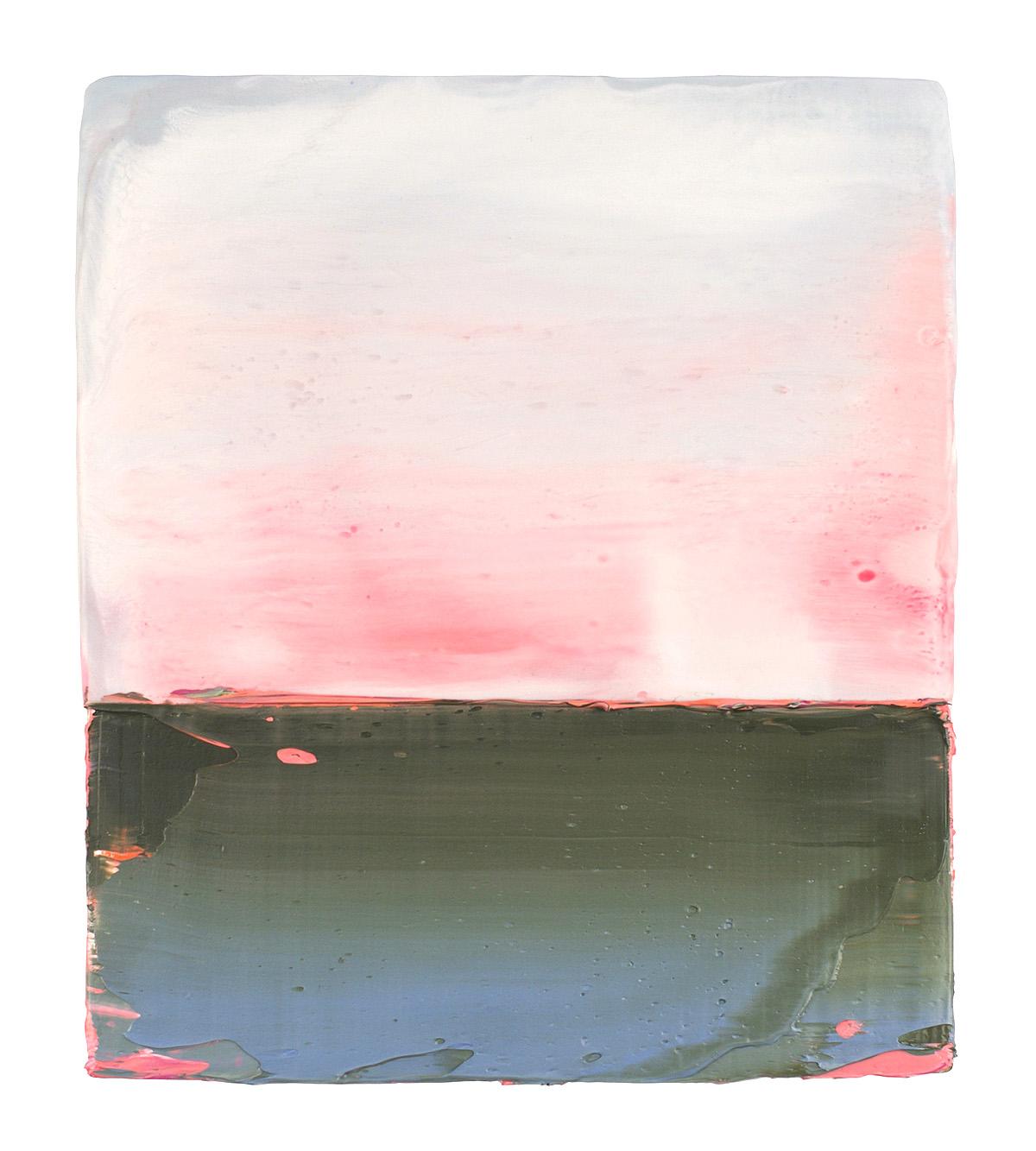 Anke Roder, 'Sunrise, Sundown', encaustic and oils on wood