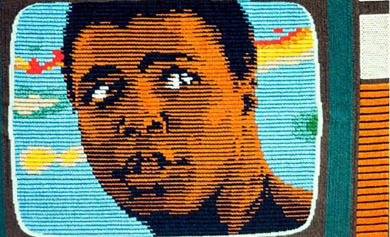Archie Brennan - Muhammad Ali, tapestry