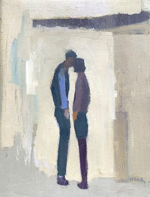 Together, oil on linen