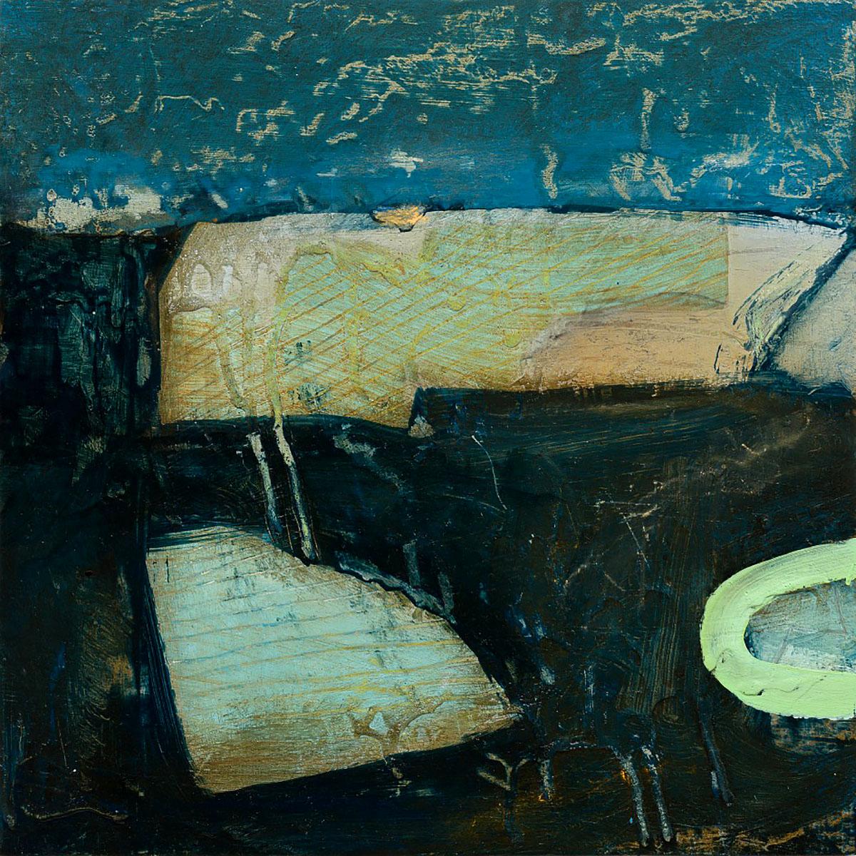 David Mankin, 'Timeless Land', Mixed media on wood panel