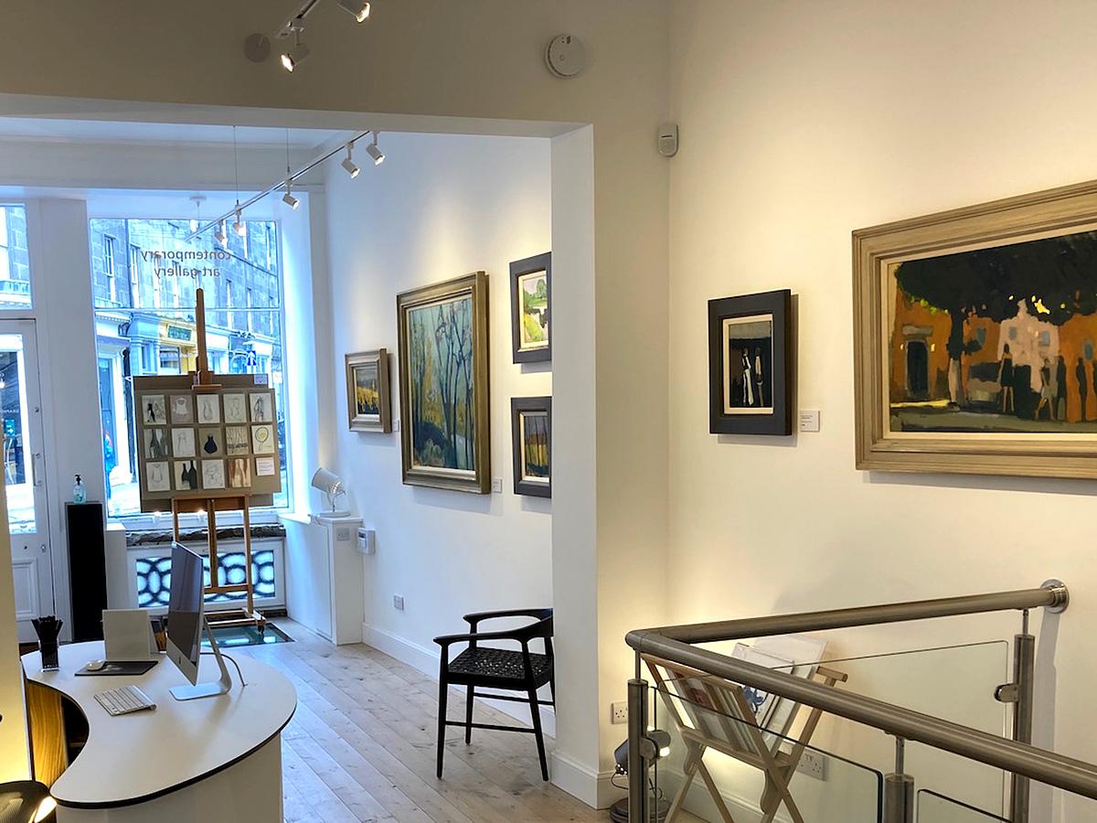 Doubtfire gallery, Michael G Clark exhibition