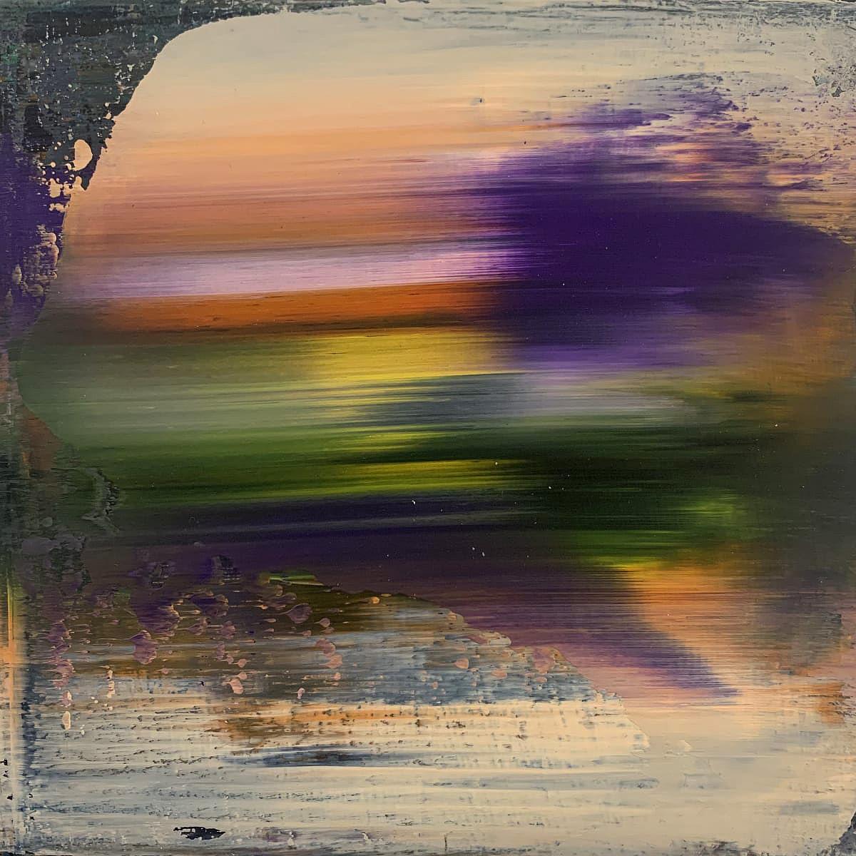 Elfyn Lewis, 'Amdiffyn', acrylic on board