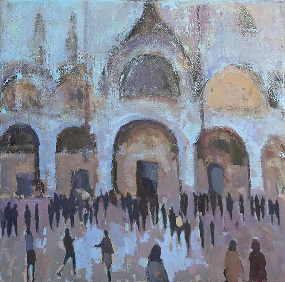 Michael Clark, 'San Marco', oil on linen