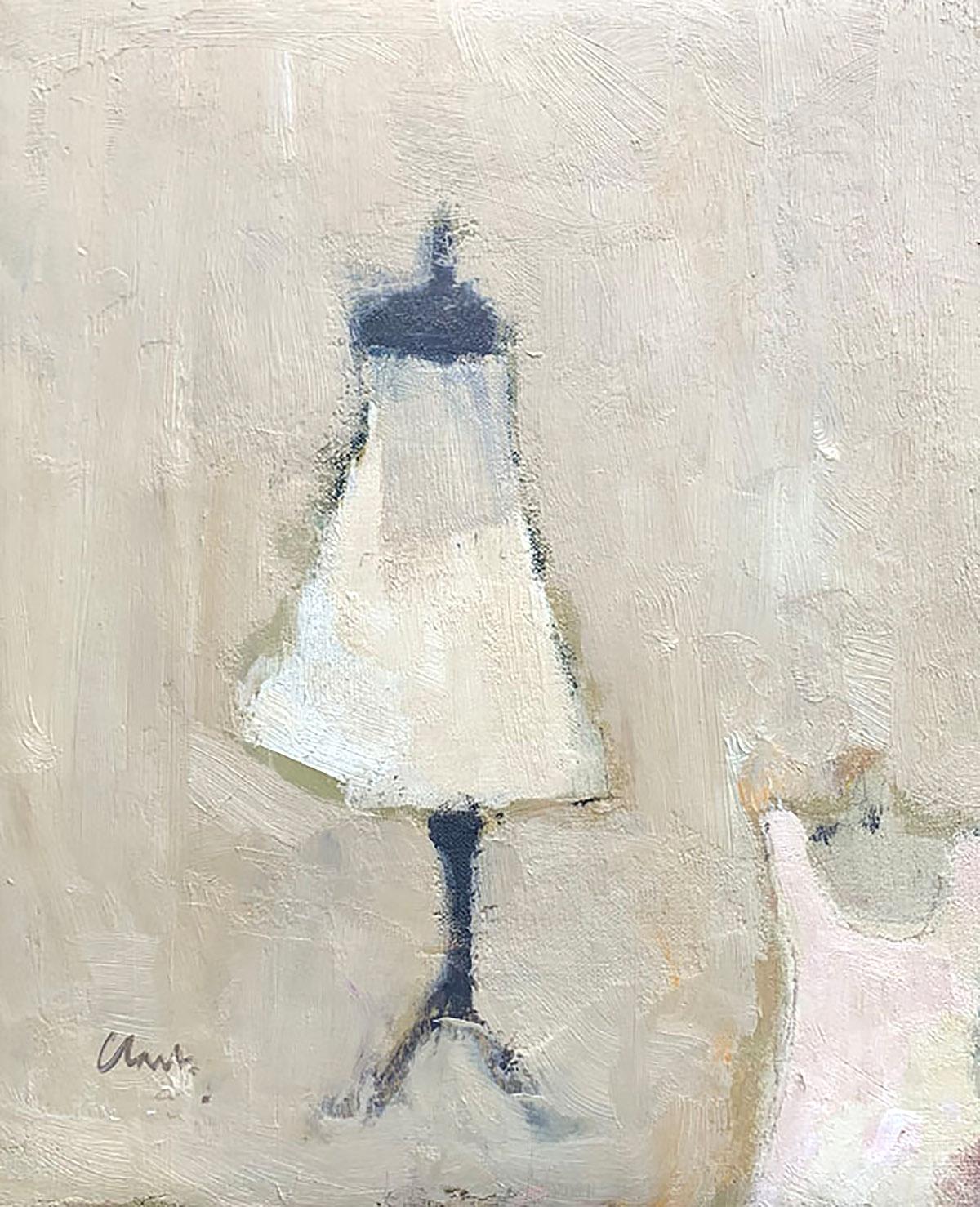 The Dressmaker, oil on linen