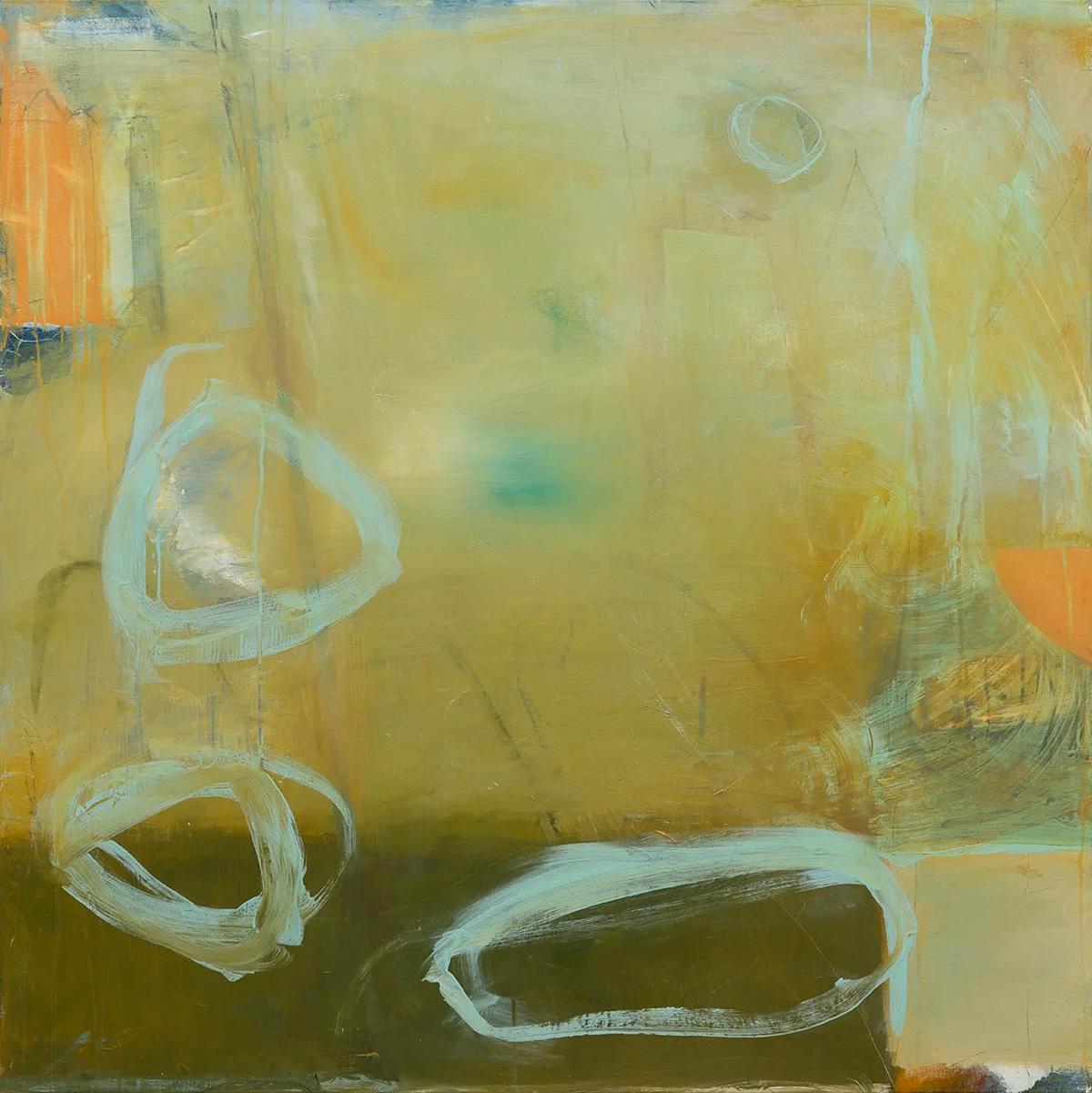 David Mankin, 'Idle Hill', mixed media on wood panel
