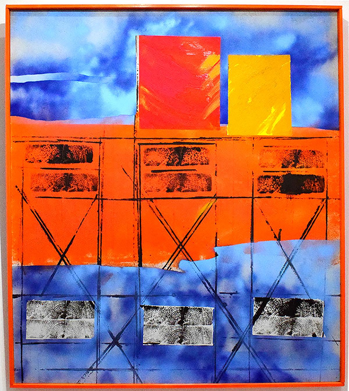 Ron Wilson, 'Orange Nets at Dungeness'