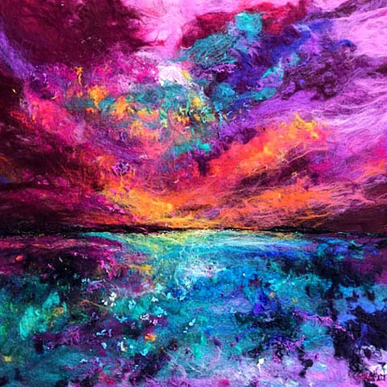 Moy Mackay, 'Where Sea Meets Sky'