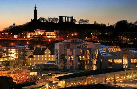The Scottish Parliament, Holyrood, Edinburgh