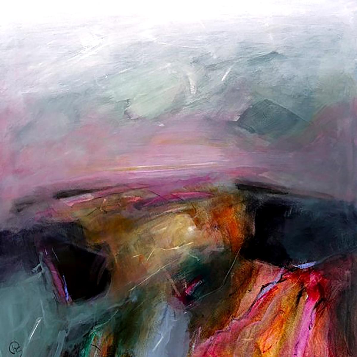 Patricia Sadler, 'Border Landscape', acrylic on canvas