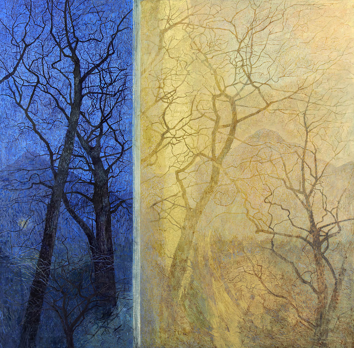 Victoria Crowe, 'From Dusk to Wakening', oil on linen