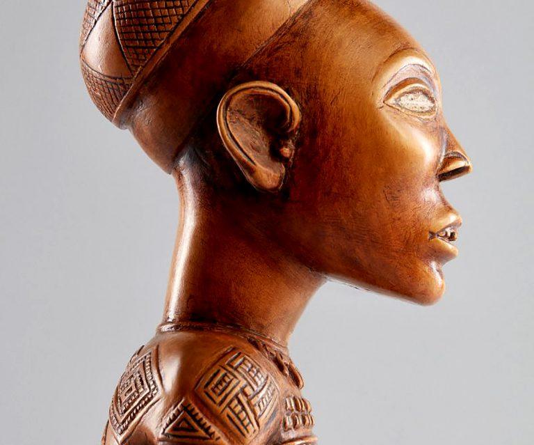 Lot 149,Yombe Maternity Figure, Phemba,Democratic Republic of Congo