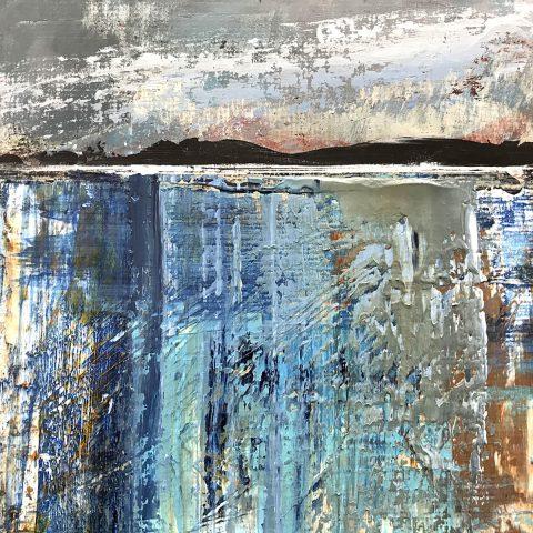 Alan Richmond, 'Shoreline, Loch Linnhe', acrylic on board