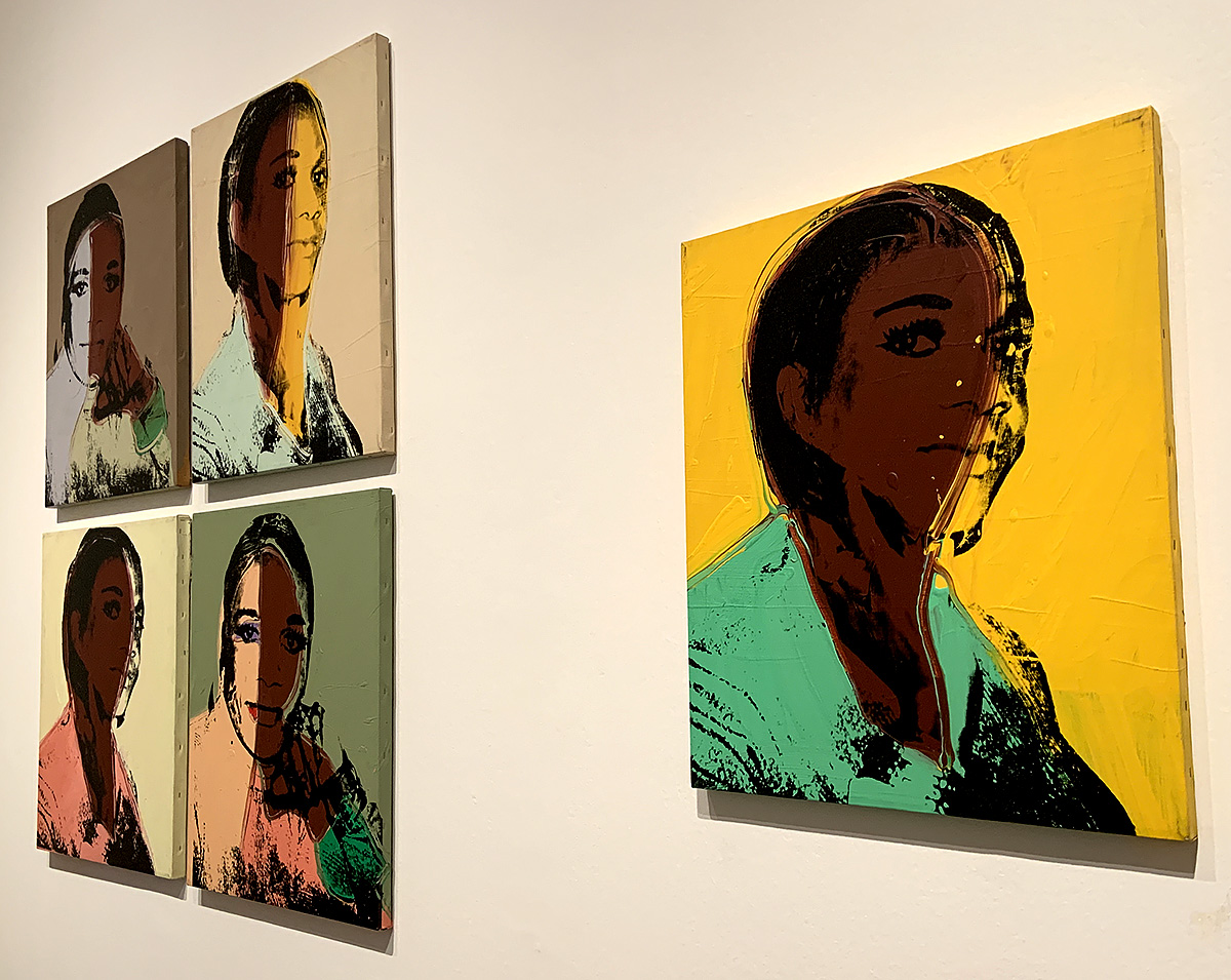 Andy Warhol, 'Ladies and Gentlemen', Acrylic paint and silkscreen ink on canvas