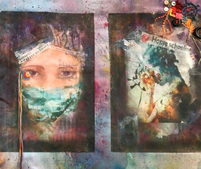 Lindsay, '20/20 Vision', mixed media
