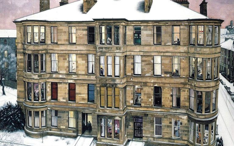Image: Avril Paton, 'Windows in the West', open edition print