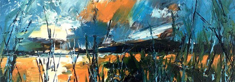 Clare Blois, 'An Evening Sky'