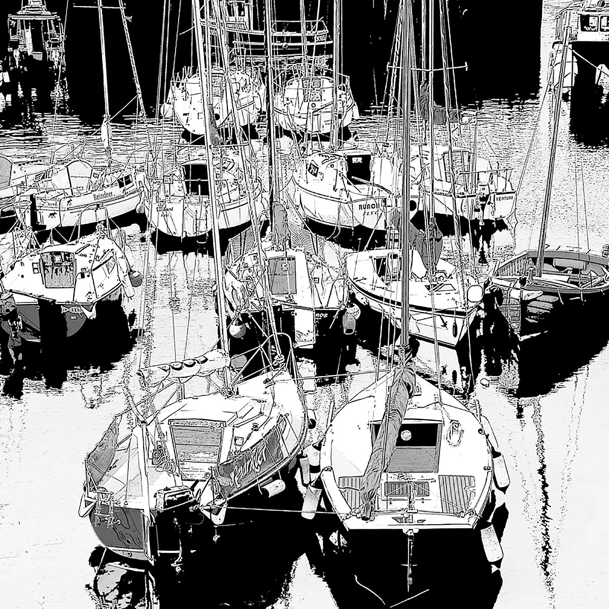 Colin M Bryce, 'East Coast Harbour', photographic print