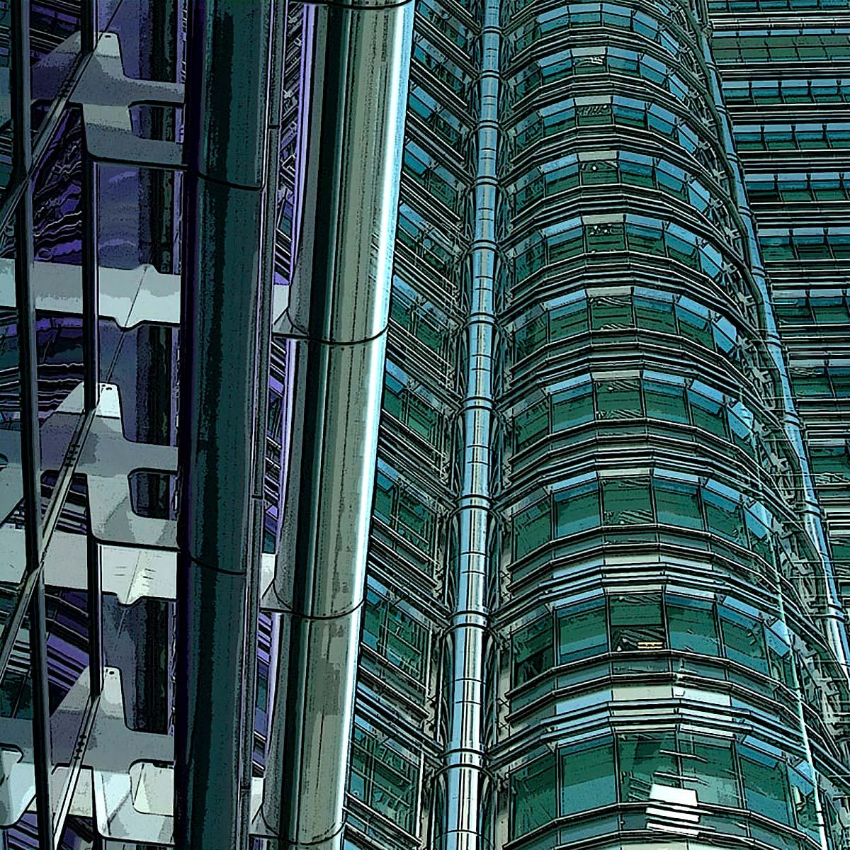 Colin M Bryce, 'Petronas', photographic print