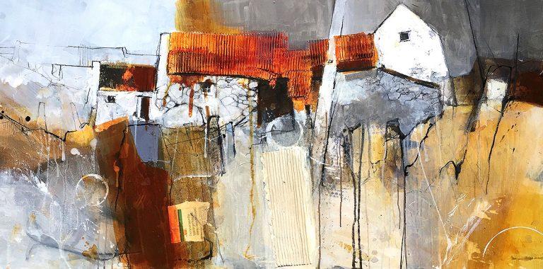 Pete Monaghan, 'Ducalla Farm', wood panel
