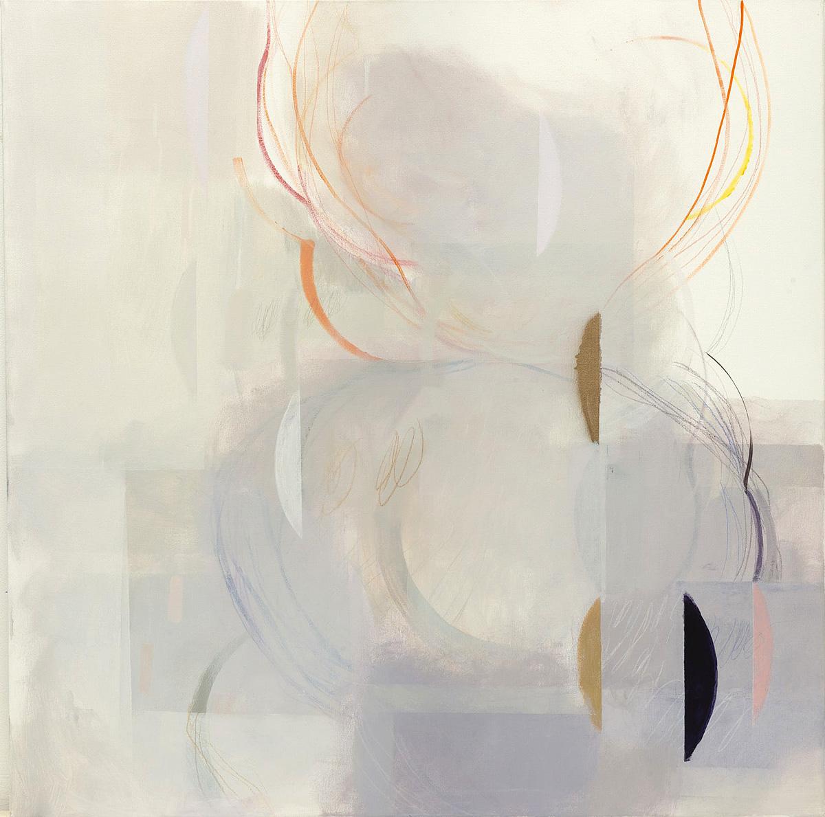 Ele Pack, 'Open Heart II', mixed media on canvas
