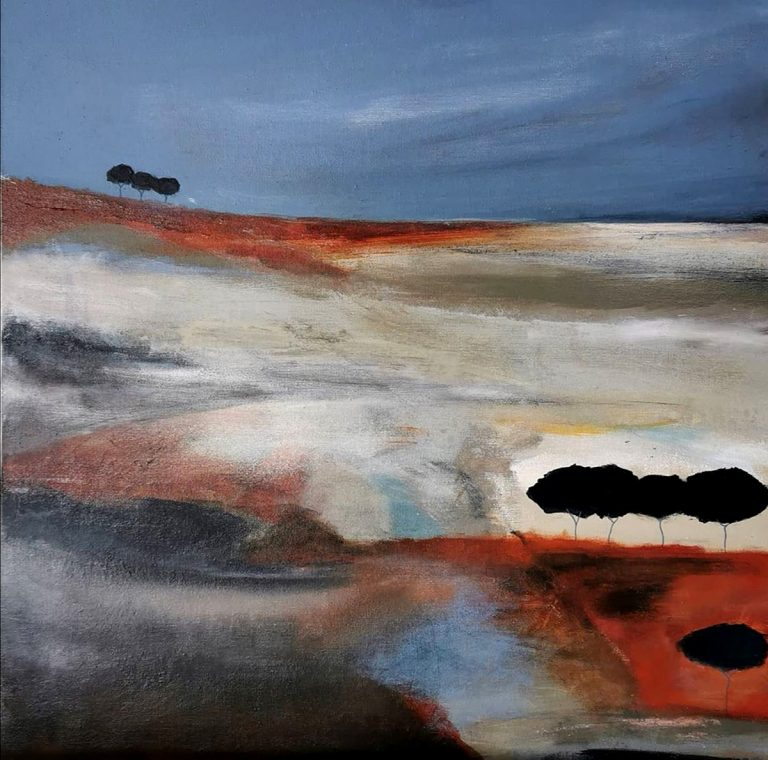Kirstin Heggie, 'Distant Trees'