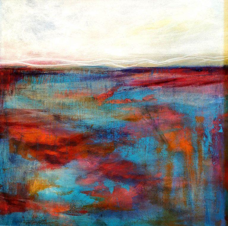 Kirstin Heggie, 'Summer Seas', acrylic on board