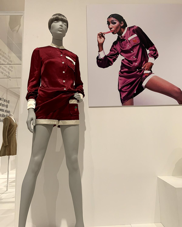 Minidress and matching shorts
