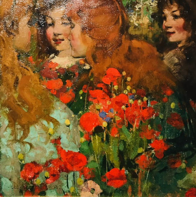 The Poppies, George Henry