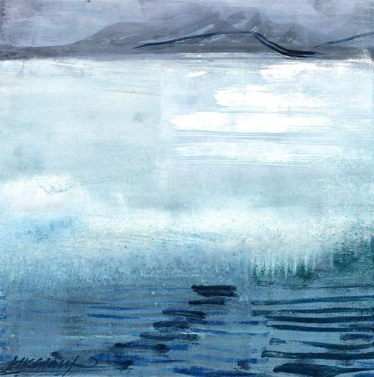 Helen Glassford, 'Trace', oil on board