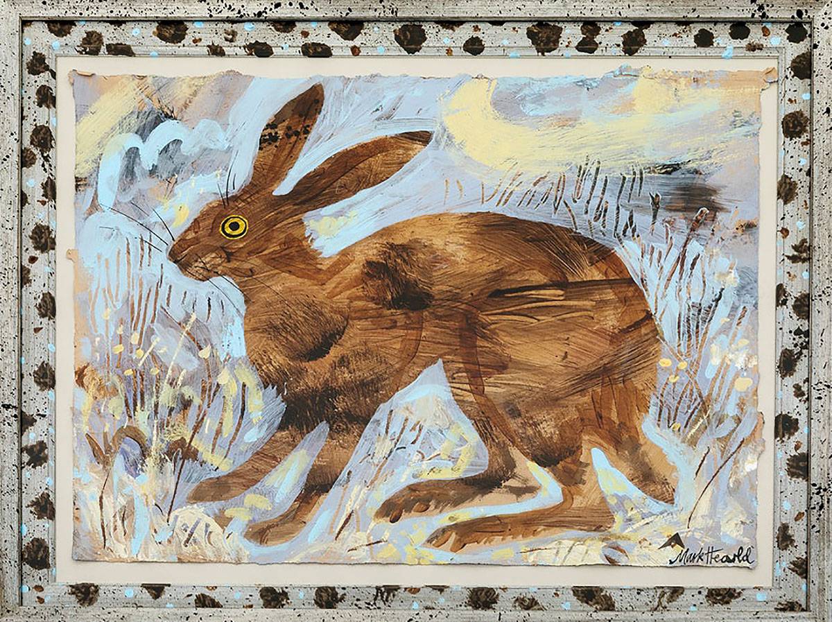 Mark Hearld, 'Hare II', collage and mixed media